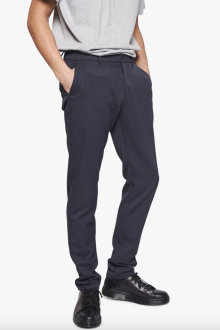 Wood Bird - Steffen Twill Pants Navy Mel.